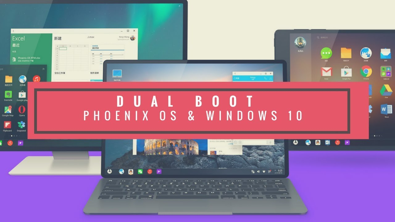 windows 10 on android dual boot