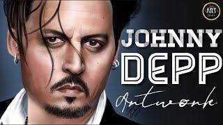 JOHNNY DEPP Digital Painting
