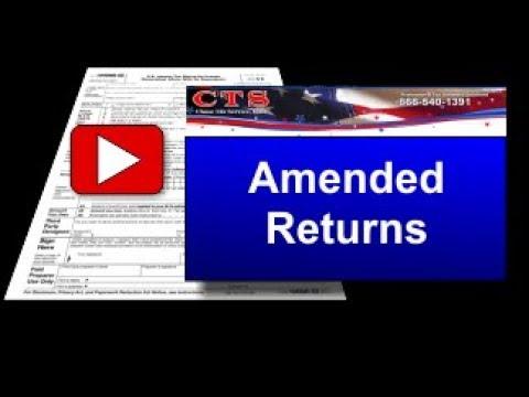 Amended Return