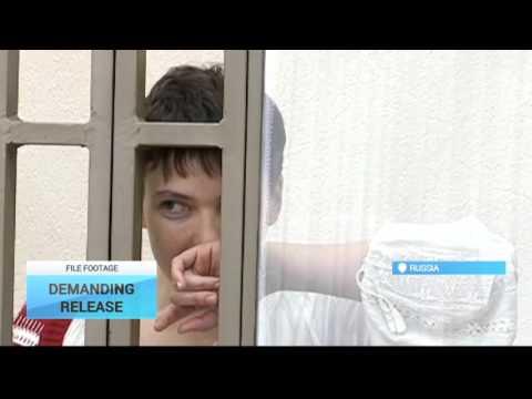 Merkel, Hollande Discuss Savchenko's Health: Poroshenko held phone talks with French, German leaders