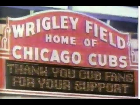 Classic 1988 CHICAGO CUBS commercial - WGN TV