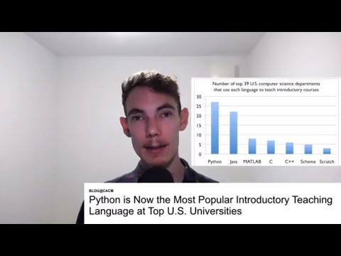 Where's the job market headed for Python?