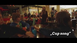"""Cup song"" - flash-mob - Sosnowiec"
