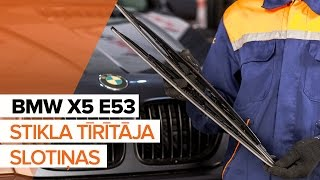 Video instrukcijas jūsu BMW X5