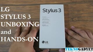 LG Stylus 3 Unboxing and Hands-on