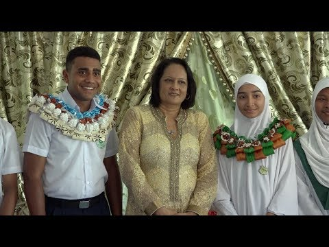 Fijian Minister for Health officiates at Suva Muslim College Prefects Induction Program