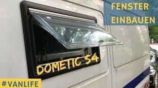 Wohnmobil Fenster einbauen Seitz S4 - Sprinter Van Conversion #VANLIFE
