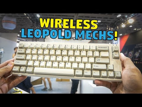 Leopold's Wireless Mechanical Keyboards (Reupload)