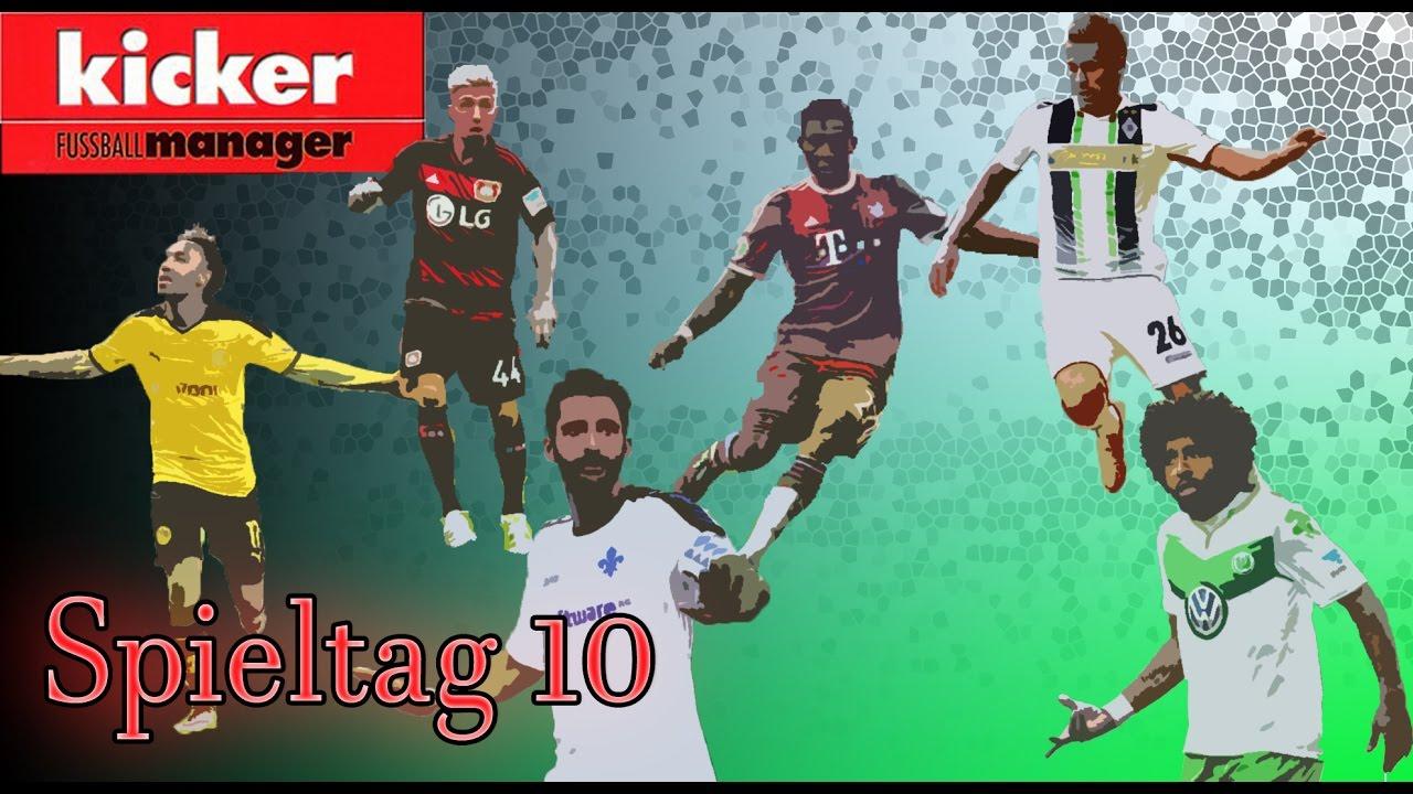 Kicker De Managerspiel 16 17 Spieltag 10 Fussball Bundesliga