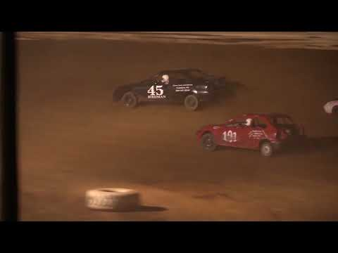 Midway Speedway 4 Cylinder Feature 4-21-18