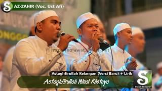 """Download Mp3 """"merdu"""" Lirik Az-zahir - Astaghfirullah  Cengkok Versi Baru"""