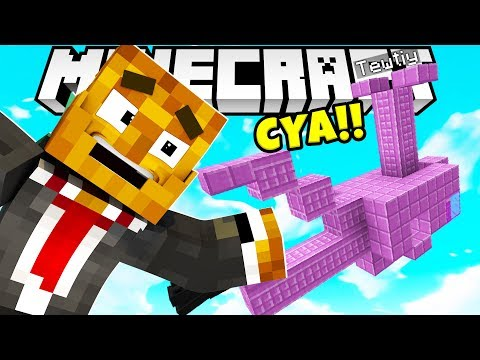 TEWTIY HAS NO IDEA HOW TO FLY VALKYRIEN WARFARE AIR SHIP BATTLE GAMEMODE - MINECRAFT MODDED MINIGAME