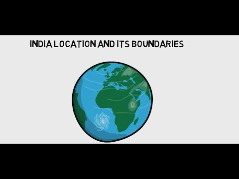 Geography of India Location, Extent and Boundaries