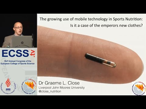 Technology and Sport Nutrition Dr. Close