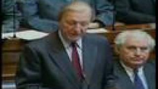 Charles Haughey resigns, 1992.