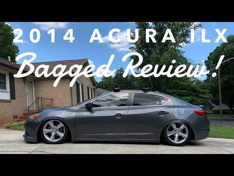 2014 Acura ILX Bagged Review!