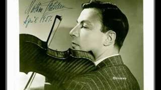 Milstein Plays Corelli's La Folia Variations
