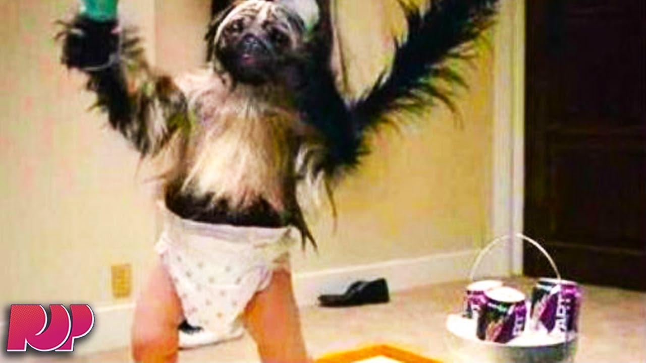 Puppy Monkey Baby Mountain Dew Ad EXPLAINED - YouTube