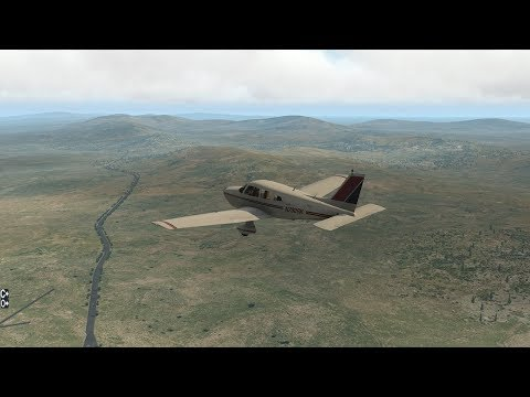 X-Plane 11! Quick Falkland Islands Trip!