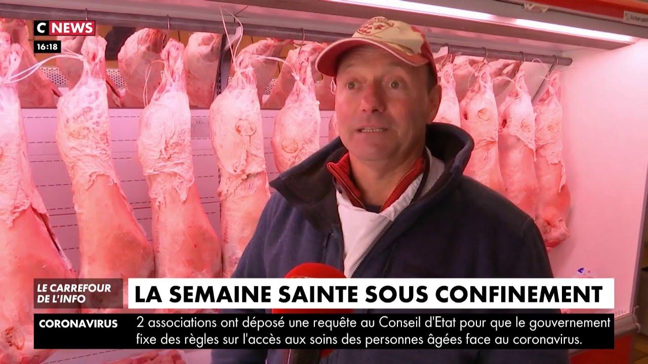 La semaine Sainte sous confinement, les stocks de viande ne désemplissent pas