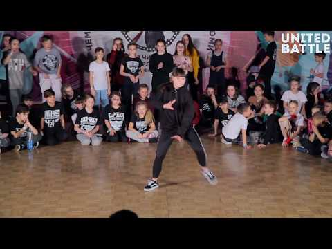 United Battle February 2018 - Hip-Hop Solo, Beginners