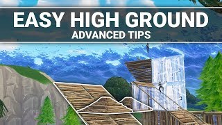 Fortnite: How to Get High Ground in Almost Every Build Fight (Advanced Building Tips)