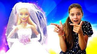 Барби проспала свадьбу! Барби - невеста. Игры для девочек - Салон красоты