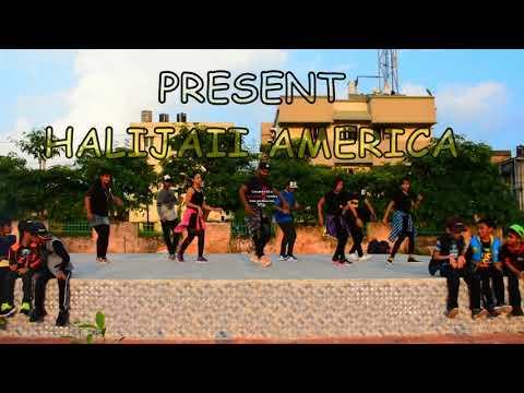 Anu's Dance Freak presents dance on Halijaye America by Anupam Nayak