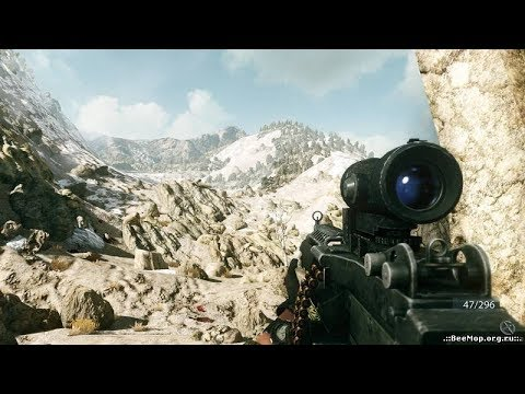 Heavy Combat in the Mountains ! In Awesome FPS Game Medal of Honor 2010