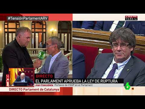 Joan Coscubiela a Al Rojo Vivo (08/09/2017)