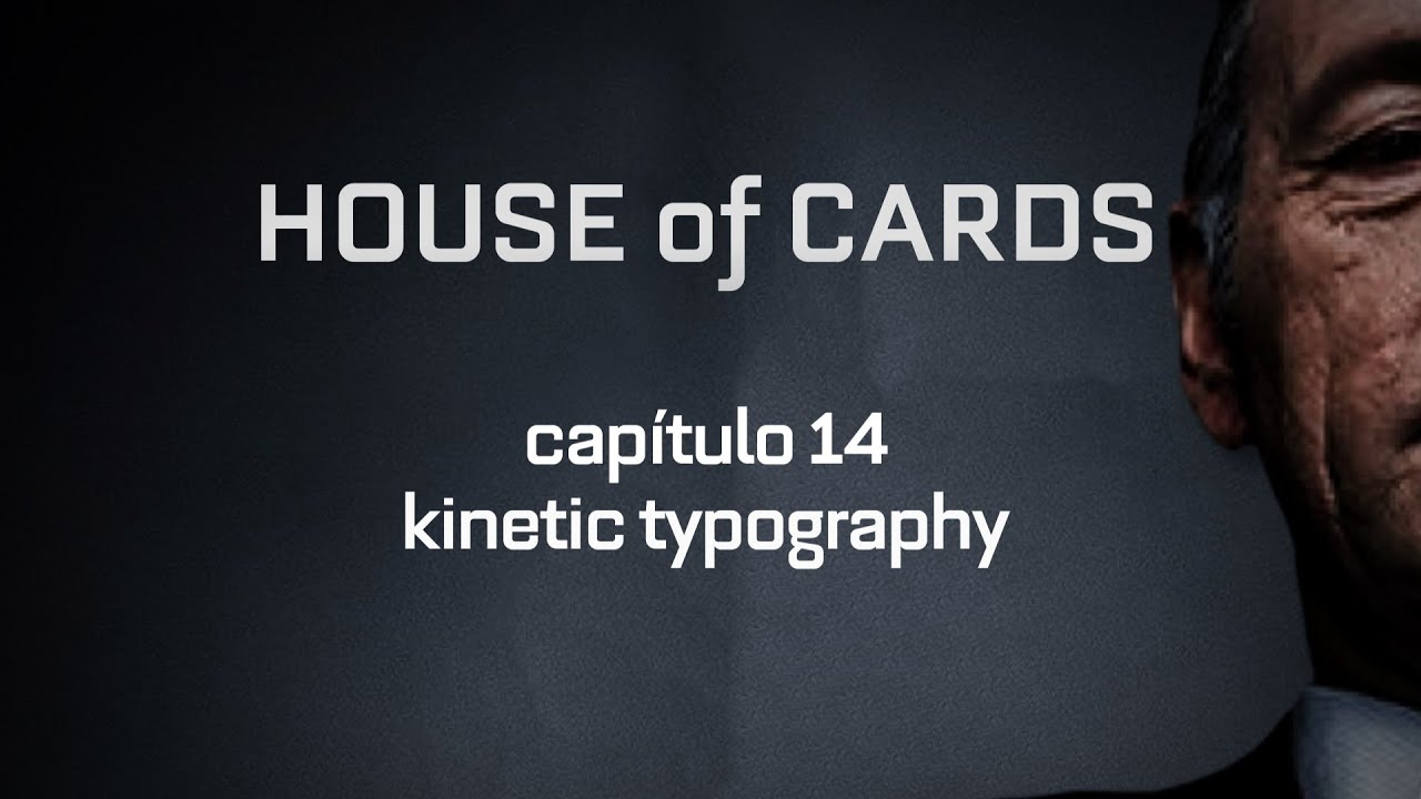 Kinetic Typography - House of Cards (Chapter 14) - YouTube