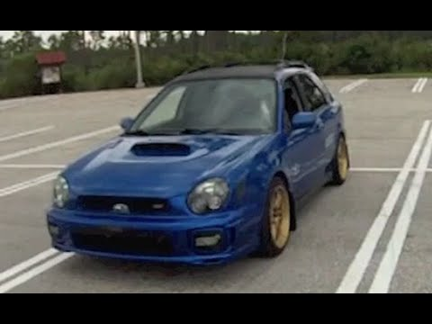 2002 Subaru Impreza WRX Wagon Review (With Scoring) - YouTube