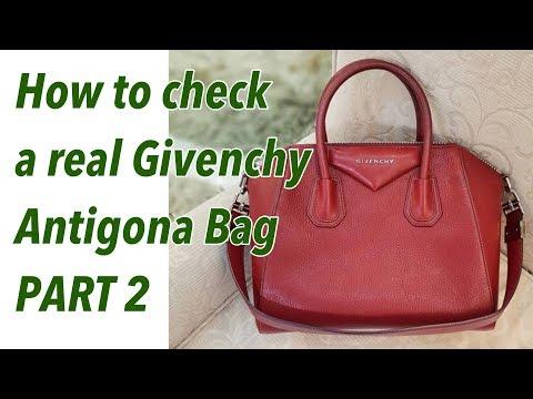 1b2054f6041 Authenticate Givenchy Antigona Bag Real Vs Fake | Bag talks by Anna -  YouTube