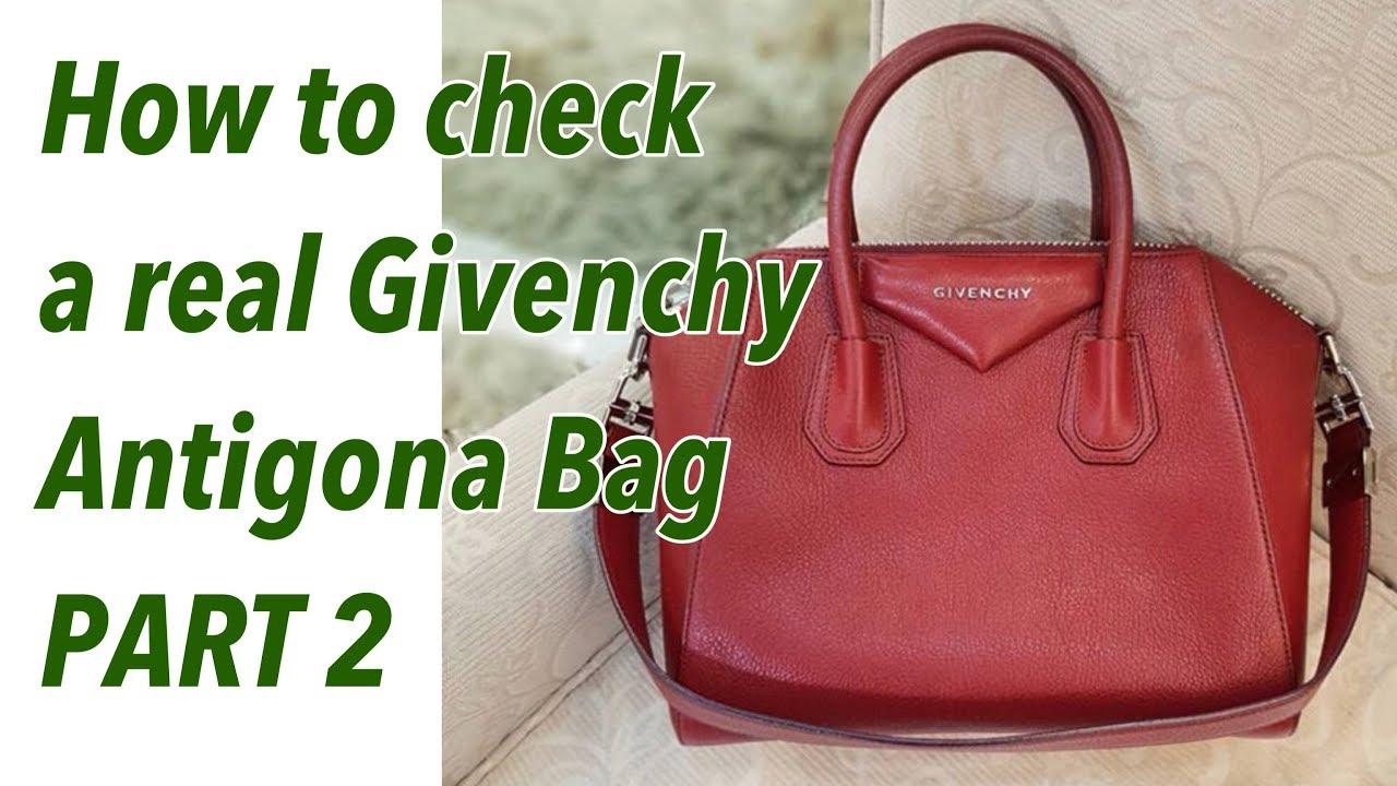 193c36302c4 Authenticate Givenchy Antigona Bag Real Vs Fake | Bag talks by Anna ...