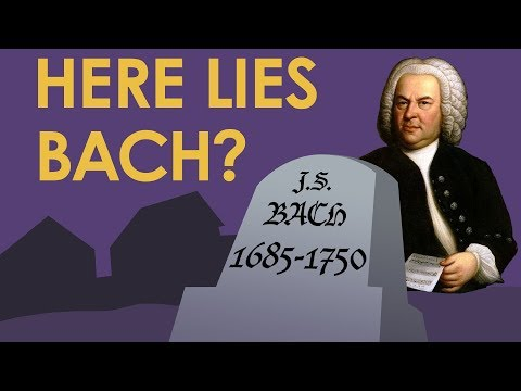 Who is buried in Bach's grave? - Music History Crash Course
