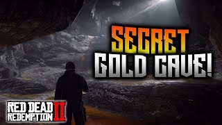 Red Dead Redemption 2 - SECRET Gold Cave Treasure Map! BIG Reward