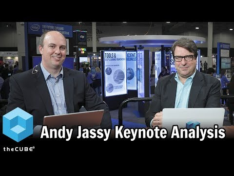 Andy Jassy Keynote Analysis  AWS re:Invent 2017