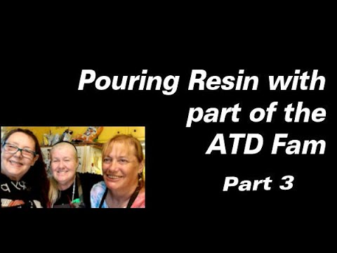 Pouring Resin With Some Friends Part Three | Resin Art | Resin Pouring | Resin Tutorial