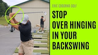 GOLF: How To Avoid Over Hinging During Your Backswing