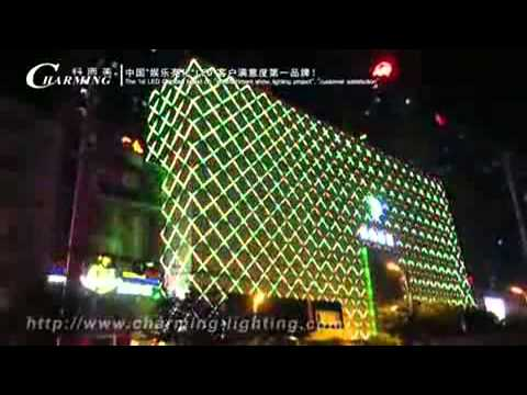 Led Digital Light For Building Facade Lighting