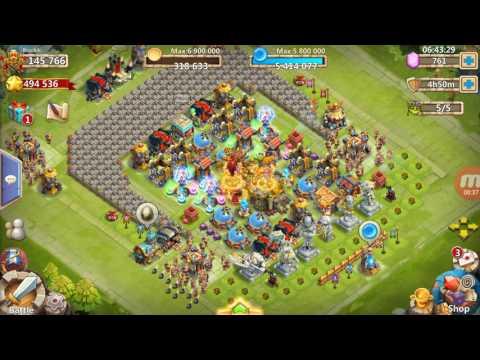 Insane Dungeon 7 (1-5) Castle Clash