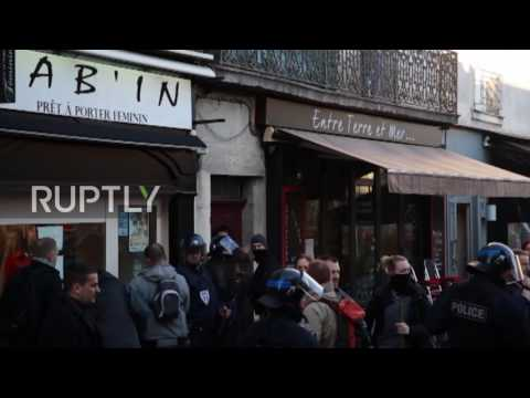 France: Teargas engulfs Dijon as protesters rail at police brutality