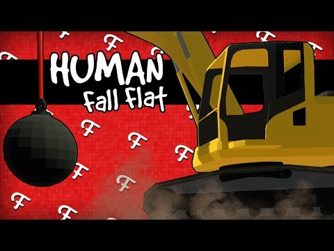 Human Fall Flat: Sleepy Teddy, Demolition, Pit Fury, Retry Fail Bloopers! (Online - Comedy Gaming)