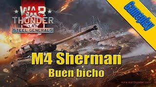Gameplay | War Thunder Español | M4 Sherman | Buen bicho