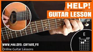 Help! - Guitar Lesson