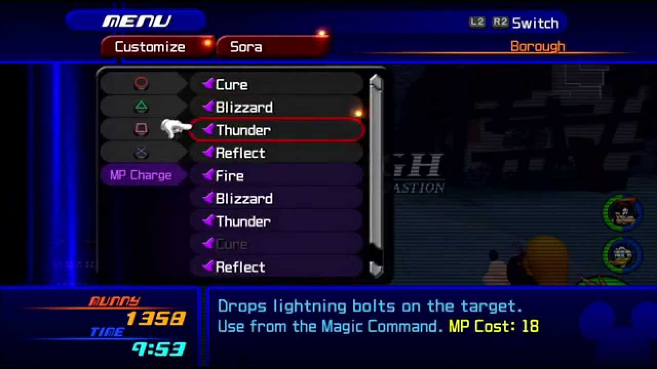 Kingdom Hearts HD 2.5 Remix -- KH2 - Leveling Up Wisdom Form - YouTube