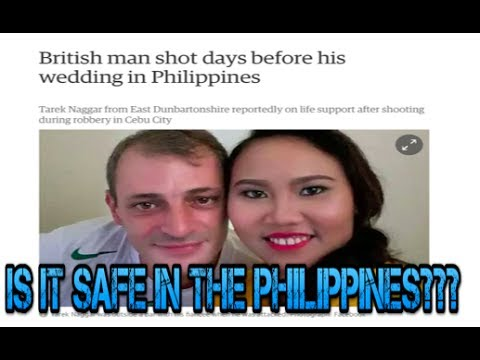 Is it Safe to Live in The Philippines?? - Foreigner Robbed and Shot in Cebu City ✅