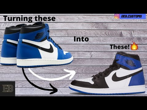Fragment Air Jordan 1 Custom/conversion #40kgiveaway #customjordans