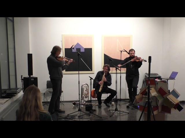 Trio Gunter Pretzel, Udo Schindler, Georges-Emmanuel Schneider