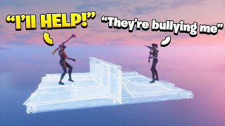 I Helped A 9 Year Old In Squads Fill Who Was Getting Bullied...  (Floating)